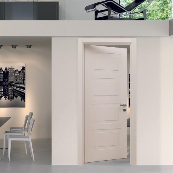 Porta classica bianco in legno