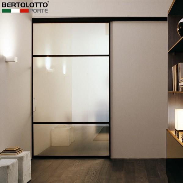Porte scorrevoli moderne con specchio