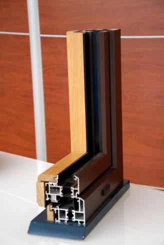 Serramento alluminio legno vicenza