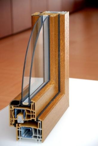 Profilo finestra in legno